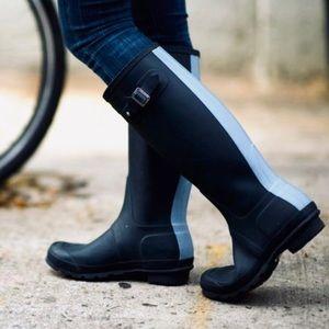 Hunter Women's Original Stripe Rain Boots size 7